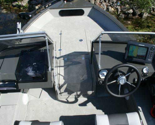 Ums Aluminium Ahoi Boot Angelboot