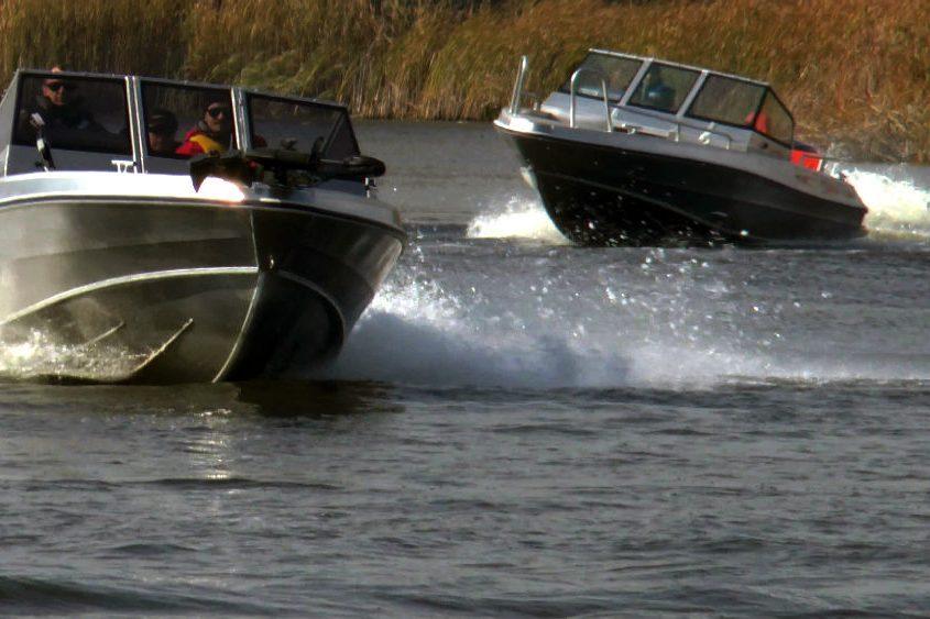 ahoi boote sicherheit geht vor, aluminium boote, nach CE-Richtliniennummer 2013/53/EU der geltenden Verordnung für Sportboote zertifiziert und gekennzeichnet