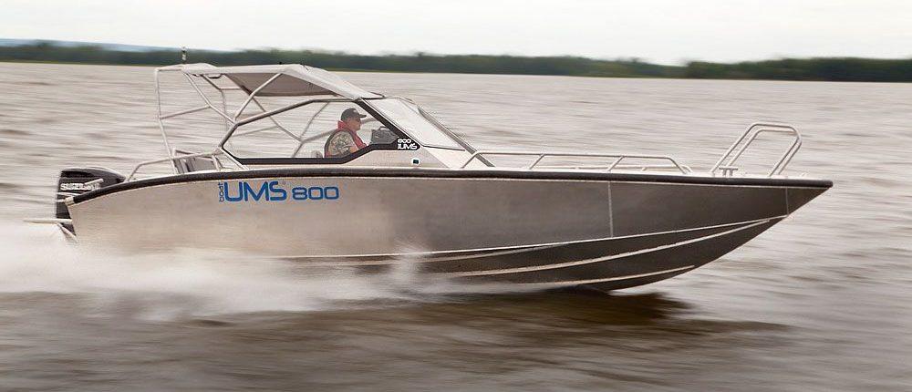 Aluminium Boot - die offene Version des Topmodels
