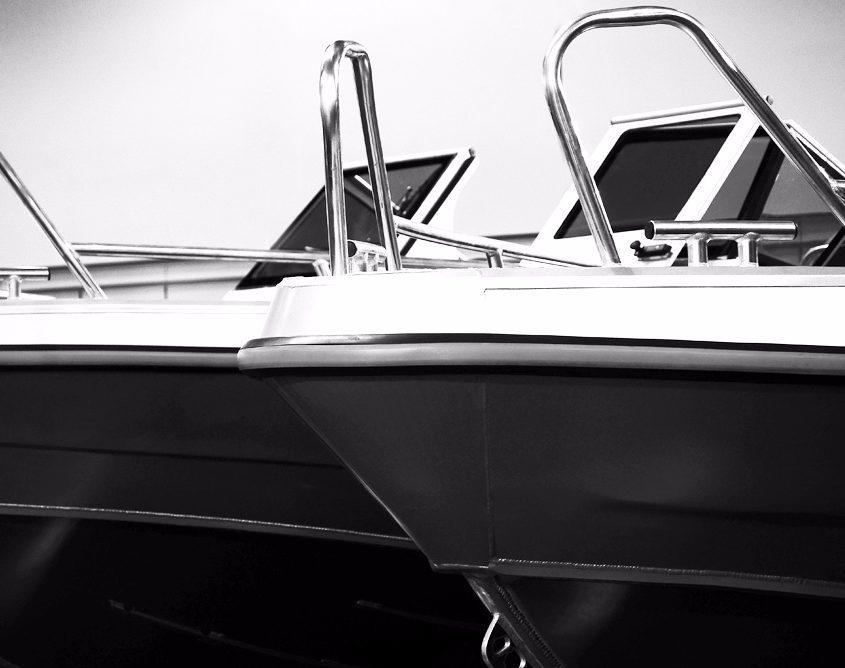 UMS-Boote Messe Ansicht von Außen