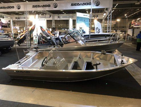 Ums 410 tt, Bestseller Angelboot, länge 4.1 meter, breite: 1.37 meter, gewicht: 190 kg, marine grade aluminium 5083, stärke: 3 mm max 4 personen