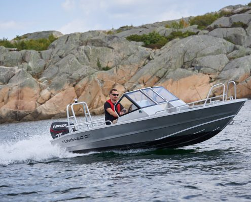 Ums 460 dc, Bestseller Angelboot, länge 4.6 meter, breite: 1.8meter, gewicht: 380 kg, marine grade aluminium 5083, stärke: 4 mm max 5 personen Besatzung