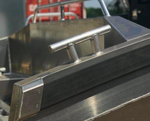 UMS 865 CABIN Marine Grade Aluminium 5083, Stärke 5 mm