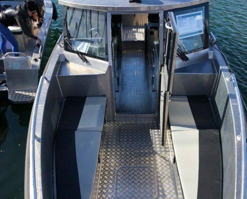 UMS 865 CABIN Marine Grade Aluminium 5083, Stärke 5 mm, max 10 Personen